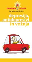 Depresija, antidepresivi in vožnja
